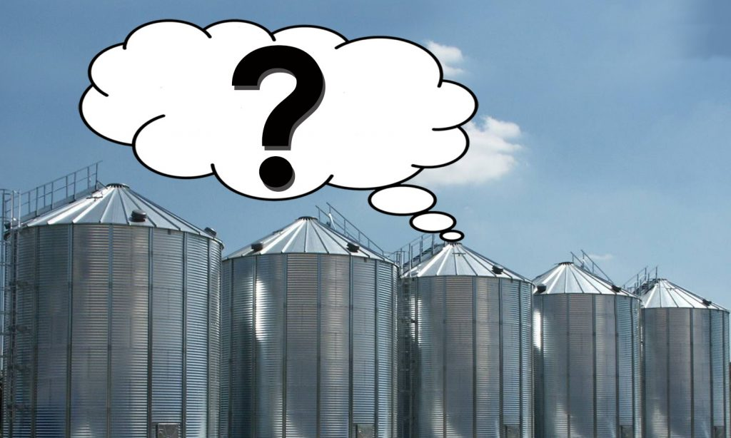 Silos and a big clueless Question Mark